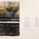 """Somewhere between Darkness and Dusk"", work by Nikki Brugnoli, on left, and partner Josh Whipkey, on the right."