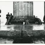 Cannon, Flowers, & Column, Brandenburg. by Helmut Brinkmann. 1990.