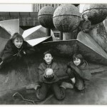 Planet Sculpture, Plaza of the Cosmonauts, Jena. by Page Chichester. 1989.