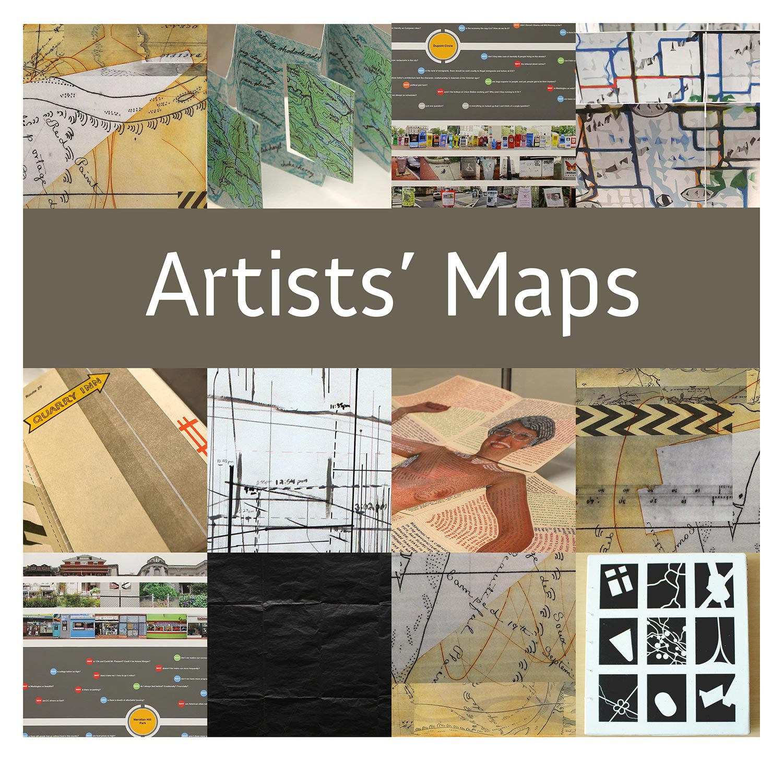 Artists Maps Fenwick Gallery - How do maps help us
