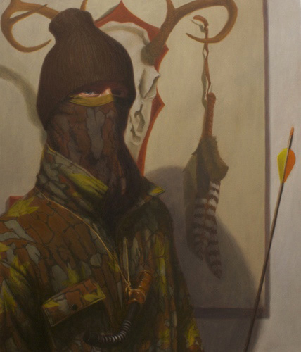 The Hunter, by Nathan Loda. 2012, oil on canvas.
