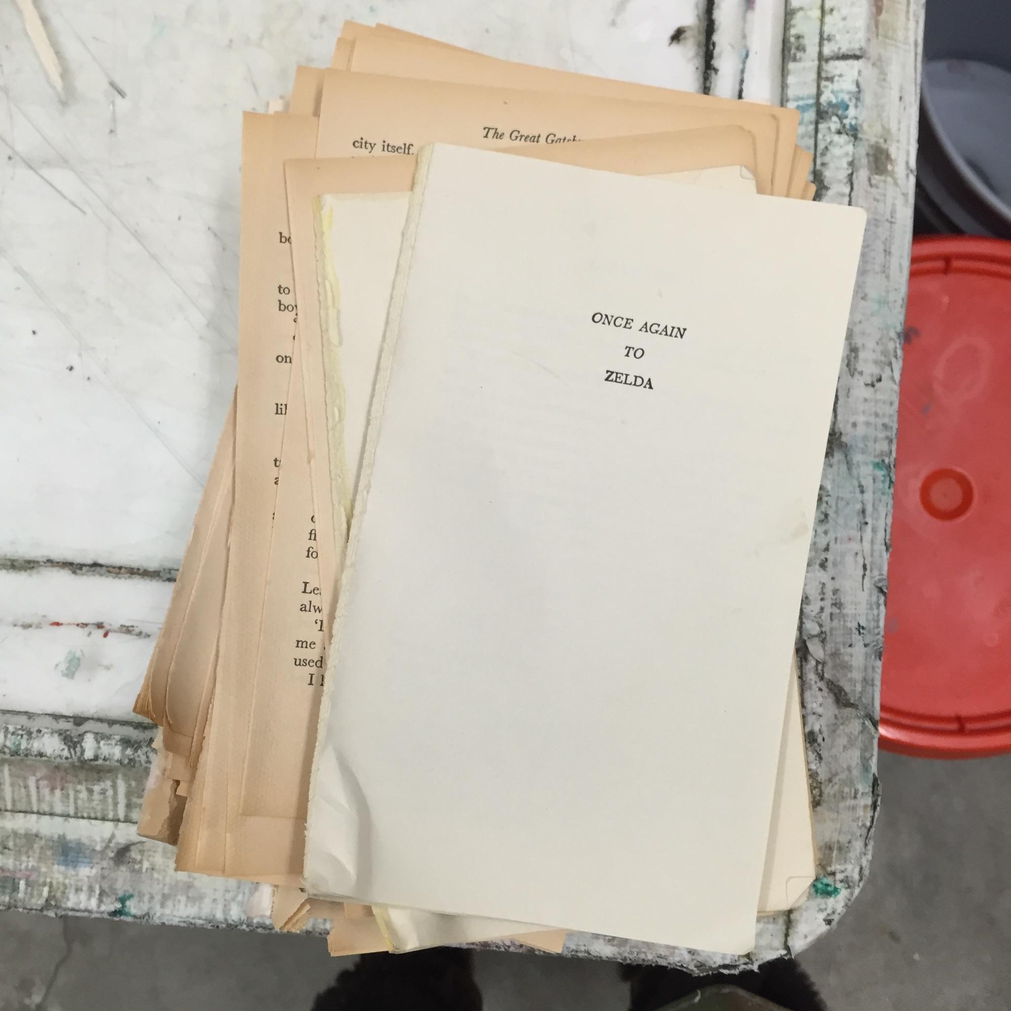 Mark Kelner Papermaking 1