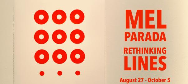 Exhibition image for Mel Parada: Rethinking Lines